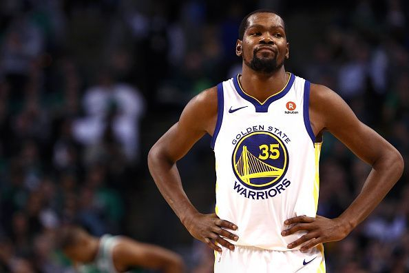 premium selection a0669 7367d Kevin Durant on OKC giving a rookie his number,