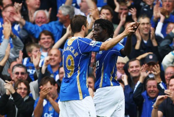 Benjani scored three of the 11 goals in this incredible game