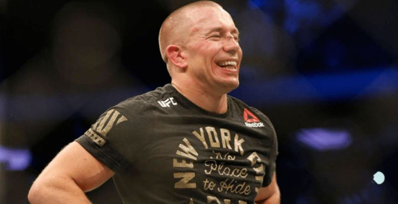 GSP soaked in the experience of being back in the octagon after four years