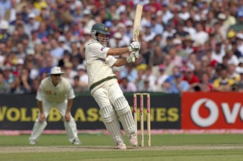 The Ricky Ponting pull in all its glory