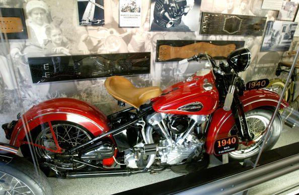 Traveling Harley Davidson Museum in Washington