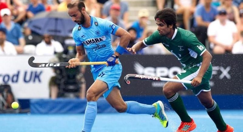 Ramandeep Singh (L) will have to be at his best for India to have an upper hand in the finals