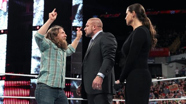 Image result for Triple H On If WWE Will Make An Exception For Daniel Bryan's Ring Return