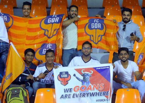 There's never a shortage of Goa fans in Mumbai. (Photo: ISL)
