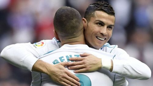 two out of three goal scorers for Real Madrid