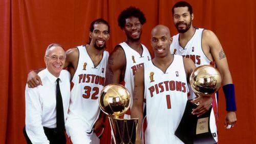 The 2004 NBA Champions - the Detroit Pistons (Image courtesy: nba.com)
