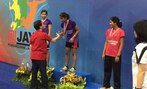 Gayatri Gopichand won the U-19 National Tournament