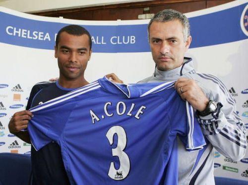 Chelsea & Ashley Cole Press Conference