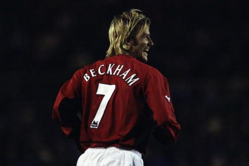David Beckham of Manchester United