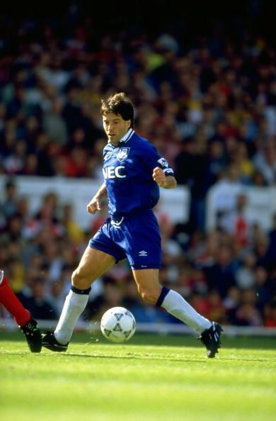 Preki of Everton