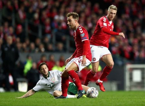 Denmark were left frustrated by a tough Irish backline