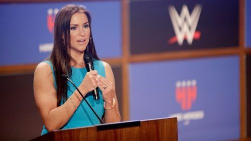 Image result for wwe hire heroes usa stephanie