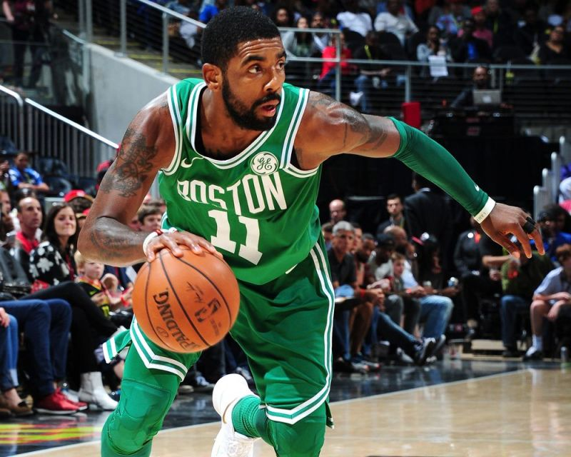 All-Star player, Kyrie Irving has been leading the way for a young Celtics team