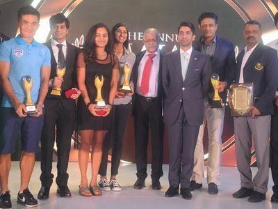 SWAB awardees present on stage
