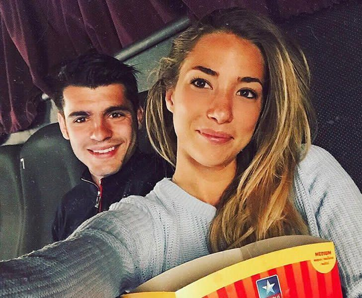 Image result for morata wife