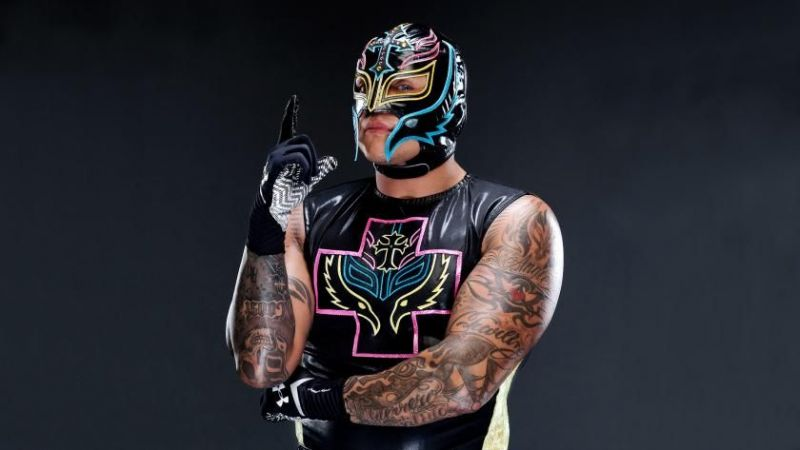 Rey Mysterio is currently signed with Lucha Underground