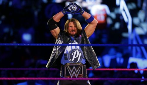 AJ Styles successfully defended the WWE Title last night in Boston