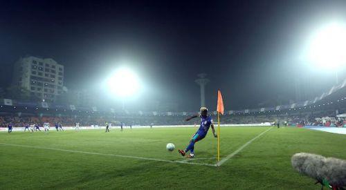 Direct football helped Mumbai's cause. (Photo: ISL)