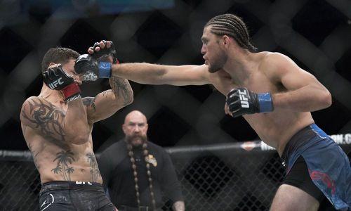 Brian Ortega made a statement at UFC Fresno