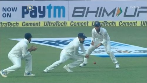 Kohli dropped a relatively simple chance