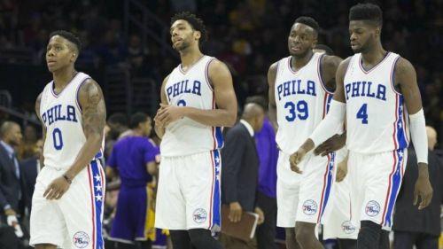 The 2015-16 Philadelphia 76ers (Image courtesy: sportingnews.com)