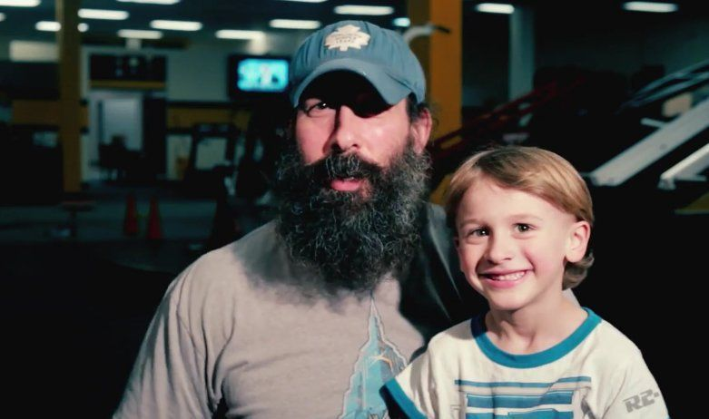 Luke Harper and his wife welcome their second child