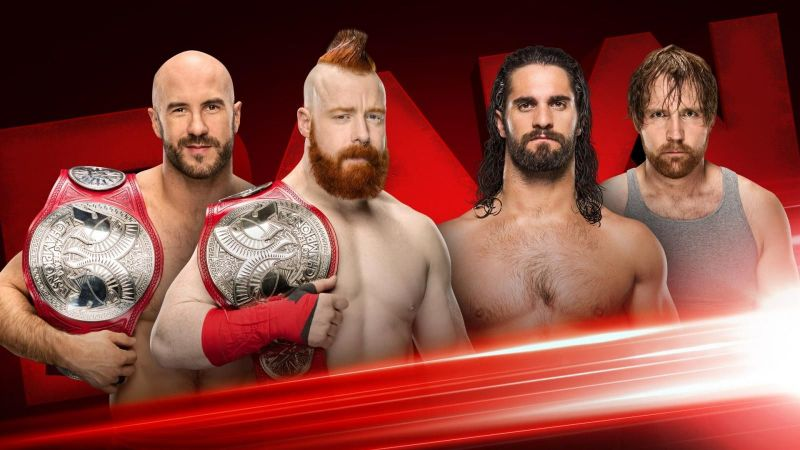 A huge title match will headline tonight's RAW