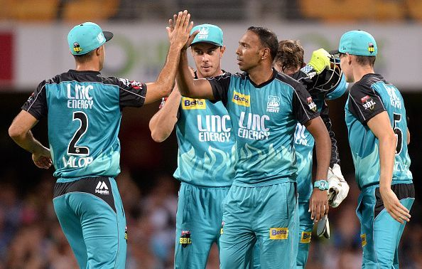 Big Bash League - Brisbane Heat v Sydney Thunder