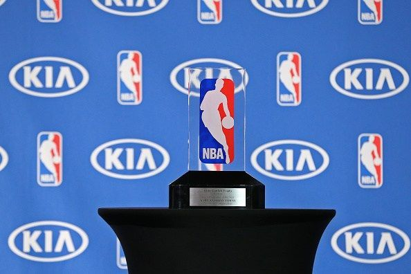 NBA Rookie of the Year trophy