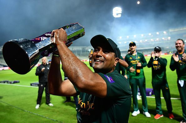 Patel helped his side win the NatWest T20 Blast this year