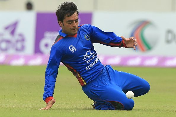 Rashid Khan has a highly impressive record in ODIs and T20s in the concerned period