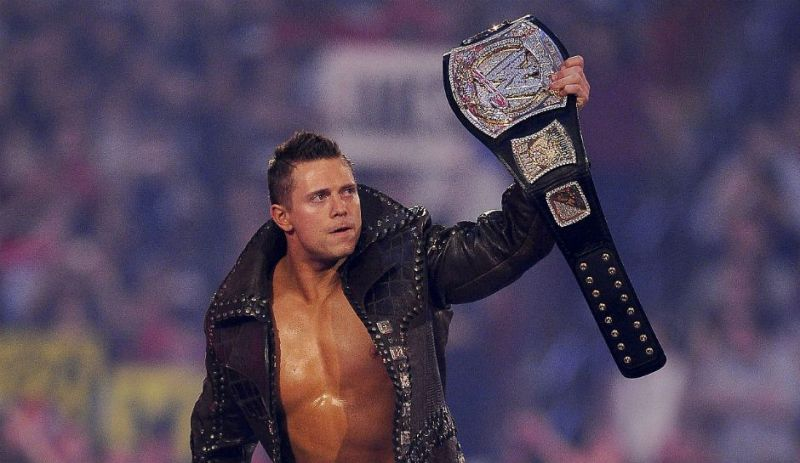 Image result for the miz wwe champion