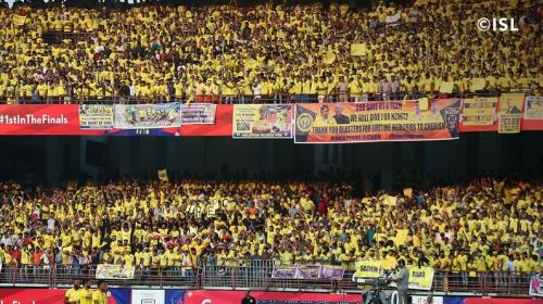 Arguably the best fans in the country (Photo: ISL)