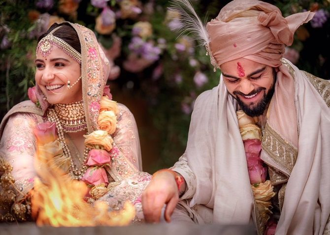 Virushka weds