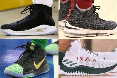 Steph? Kyrie? LeBron? Lillard? Who's got the best sneaker of 2017?