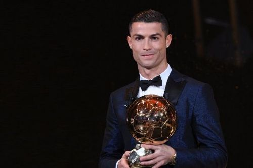 Cristiano Ronaldo Ballon d'Or 2017 winner tweets