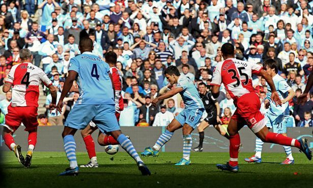 Man City vs QPR - Premier League 2011/12