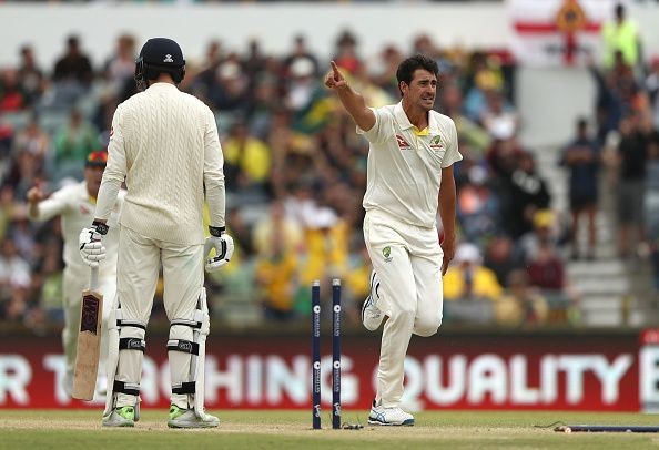 Starc delivered an absolute jaffa to get rid of Vince