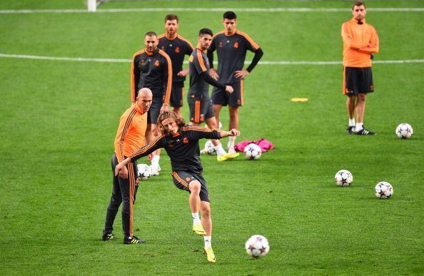 Real Madrid Training - UEFA Champions League Final