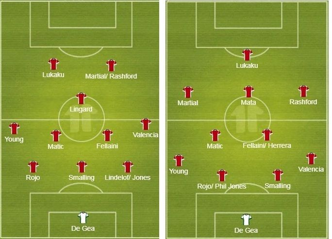 probable lineup manchester united left 341