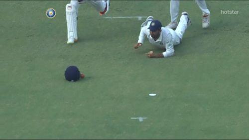 Dhawan's drop cost India 5 runs