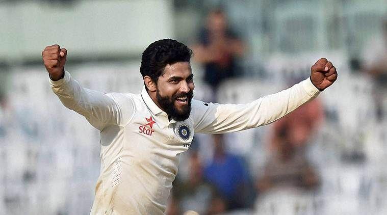 Image result for India vs England 2016 Chennai Test Jadeja