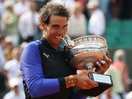 Nadal won his 10th French Open in 2017, his 10th win at Roland Garros and a Grand Slam record