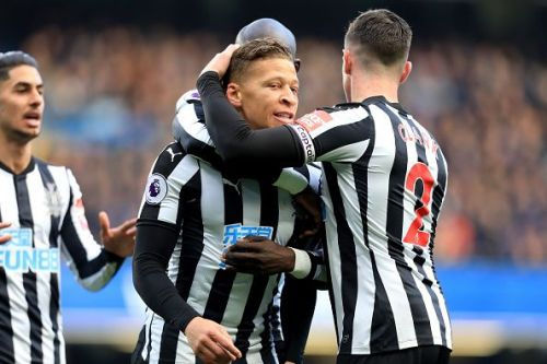 Gayle opened the scoring but Newcastle failed to old on