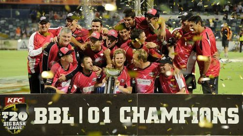 Sydney Sixers were the winners of the inaugural BBL