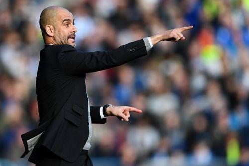 Pep Guardiola Manchester City defending tactics