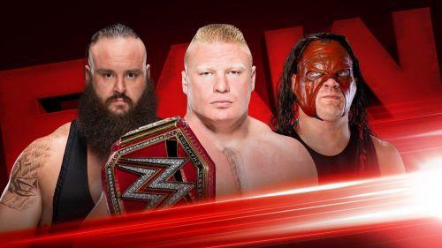 Brock Lesnar, Kane and Braun Strowman