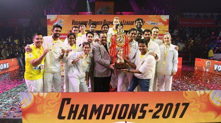 Defending champions Chennai Smashers, led by P.V. Sindhu, will open their PBL-3 campaign against Saina Nehwal