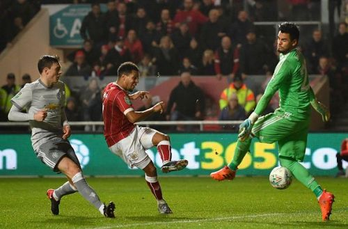 Bristol City v Manchester United - Carabao Cup Quarter-Final