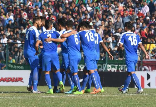 The Indian Arrows got a heart-warming reception from the Mohun Bagan fans. (Photo: I-League)